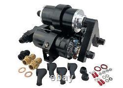 1000HP EFI External High Flow Fuel Pumps Triple Bracket & Filter 044 Bosch Style