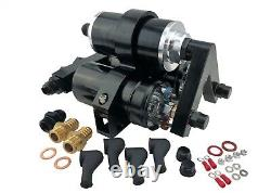 1000hp Efi External Hi Flow Fuel Pumps Triple Bracket Filter For 044 Bosch Style