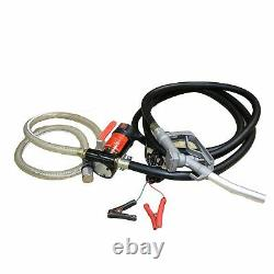 12V Electric Battery Powered Diesel Oil Fuel Fluid Transfer Pump Extractor
