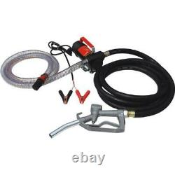 12v Electric Diesel Fuel Transfer Pump Oil Dispenser 45l/min Fuel Extractor
