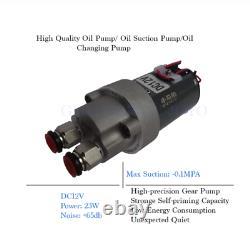 23W DC 12V Oil Pump Circulation Gear Electrical DIY Machine Fuel Transfer Waster