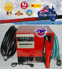 240V Digital Re-fueling Diesel Fuel Transfer Pump Station 60L/min WARRANTY