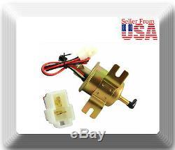 2 Pcs 12V Low Pressure Electric Fuel Pump Diesel Gas Fuel Oil for Universal car