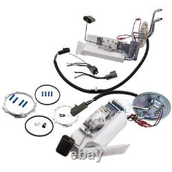 2x Front + Rear Electric Fuel Pump withSender for Ford F-150 F-250 F-350 Strainer