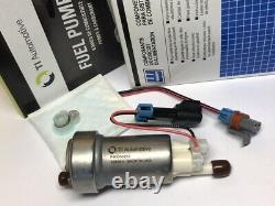 420 LPH In tank high pressure Universal fuel pump E85 OK fit kit Genuine Walbro