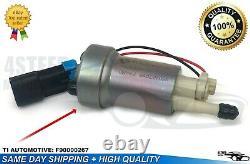 4STEED MOTORS TI Automotive 450LPH Fuel Pump & Install Kit F90000274-F90000267