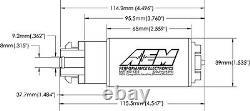 AEM 340lph E85-Compatible High Flow COMPACT In-Tank Fuel Pump MITSUBISHI EVO X