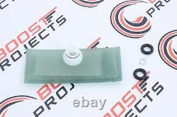 AEM 340lph E85-Compatible High Flow In-Tank Fuel Pump 65mm Offset Inlet 50-1220