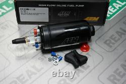 AEM 400LPH Metric Inline High Flow High Pressure Fuel Pump 044 Style 50-1009