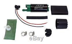 AEM 50-1200 HIGH FLOW E85 FUEL PUMP UNIVERSAL 340 LPH @ 40 PSI up to 1000 HP