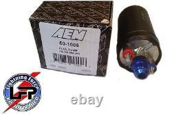 Aem 50-1005 380lph High Flow High Pressure Fuel Pump Bosch 044 In Line Style