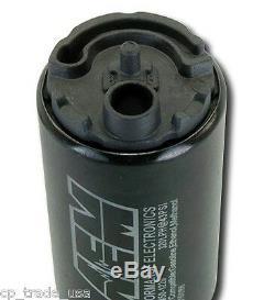Aem 50-1220 High Flow Ethanol E85 In Tank Pump 340 Lph Universal Install Kit