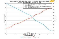 Aem High Flow 340lph In-tank Fuel Pump Kit P/n 50-1000 Electric