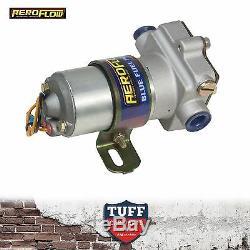 Aeroflow 110GPH 14 PSI Blue Electric Fuel Pump AF49-1009 for Holley & Demon Carb