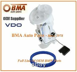 BMW E46 OEM VDO SIEMENS ELECTRIC FUEL PUMP ASSEMBLY withGasket 16146766942