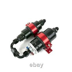 BOSCH STYLE High Pressure EFI Electric Fuel Pump withFilter & RED Bracket