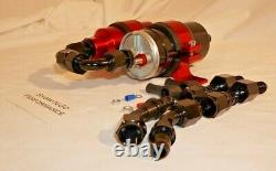 BOSCH STYLE High Pressure EFI Electric Fuel Pump with RED Filter, Bracket 250psi