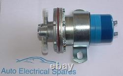 CLASSIC CAR 12v electric fuel pump (pressure) with electronic contacts SU type