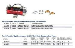 CarQuest Universal Electric Fuel Pump 41503 Cylindrical 4-5.5 psi, 32 g/h, 12V