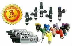 Deatschwerks DW200 255LPH Fuel Pump & Install Kit 1992-2000 Honda Civic