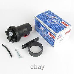 Dellorto Weber Huco 12v fuel pump 4.3 PSI 133000 near tank fitting