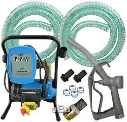 Diesel Transfer Pump Extractor Self Priming Bio Fuel Oil Electric 220v 230v 240v