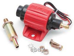 Edelbrock 17303 Universal Micro Electric Gasoline Fuel Pump 30 GPH / 114 LPH