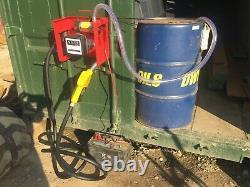 Electric Fuel Oil Diesel Transfer Pump 12 Volt