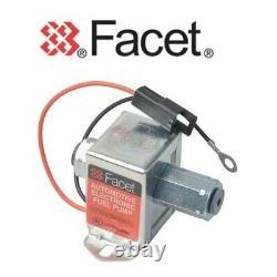 FACET CUBE FUEL PUMP 40171 / SS171 12v ELECTRIC + SHUT OFF VALVE KTM950