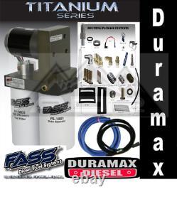 FASS Titanium Signature Fuel Pump 2015 2016 Chevy/GMC Duramax 165 GPH TS C12 165