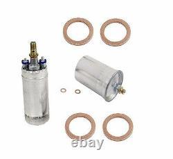 For Mercedes R107 W124 W126 R129 BOSCH OEM Electric Fuel Pump+Seal+Fuel Filter