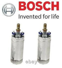 For Mercedes R107 W124 W126 R129 Set of 2 Electric Fuel Pump Bosch 0 580 254 950