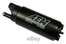 GENUINE AEM 50-1000 340LPH Intank EFI Fuel Pump with Strainer & Install Kit