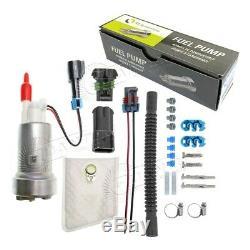 GENUINE WALBRO/TI F90000267 450LPH High Performance E85 Fuel Pump +400-1168 Kit