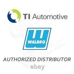 GENUINE WALBRO/TI Fuel Pump Honda Civic Del Sol 1993-1997 255LPH + QFS 846 Kit