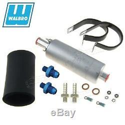 GENUINE WALBRO/TI GSL392 Inline External Fuel Pump + 128-3039 6AN Fittings