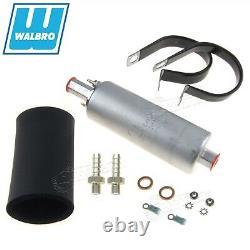 GENUINE WALBRO/TI Universal Ext Inline TBI Fuel Pump +Kit 15PSI 130LPH GSL395