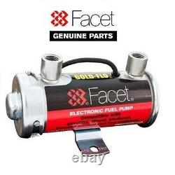Genuine Facet Silver Top Fuel Pump 4-5.5 Psi For Up To 150 Bhp Carbs 476087e