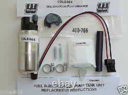 Genuine Walbro GSS342 + 400-766 KIT 255 LPH HP Fuel Pump 350Z, 370Z, G35, G37