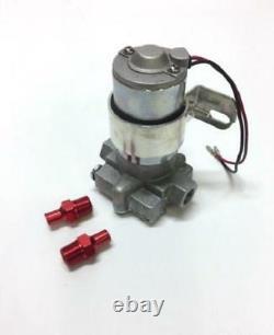 High Flow Universal Street Rod 115 GPH Electric Fuel Pump Fits 3/8 7 PSI