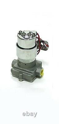High Performance High Volume 130 GPH Electric Fuel Pump Gas Pump Hot Rod 14 PSI