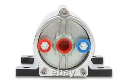 Holley 12-170 Universal In-Line Electric Fuel Pump 100 GPH @ 8 PSI -10 AN Female