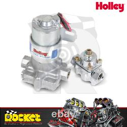 Holley Blue 110GPH Electric Fuel Pump with Regulator HO12-802