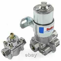 Holley Blue Electric External 110 GPH High Pressure Fuel Pump 12-802-1 Regulator