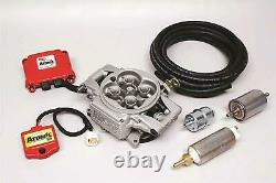 MSD 2900 Atomic EFI Fuel Injection Kit WithElectric Fuel Pump Supports 525 HP Max