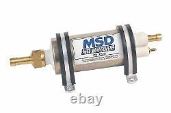MSD High Pressure EFI Inline Electric Fuel Pump 43 GPH (2225)