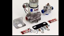 NEW Holley 12-802-1 Blue Max Pressure Electric Fuel Pump & Pressure Regulator