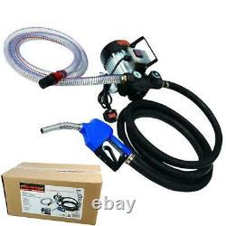 Neilsen 230v Compact & Portable Diesel Electric Fuel Transfer Pump Oil Dispenser