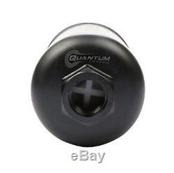 QUANTUM 380LPH Inline External Fuel Pump with 8AN Fittings 50-1005 044