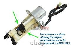 Quantum Fuel Pump +Reg & Tank Seal for 02-12 Suzuki V-Strom DL1000 # 15100-06G10